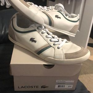 Lacoste Men's Off-White Lacoste Rayford 2 SRM